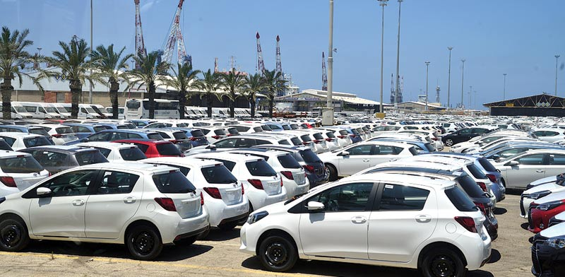 New cars Photo: Tamar Matsafi