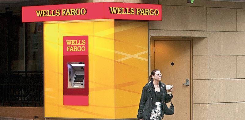 בנק וולס פארגו. / צילום: בלומברג
