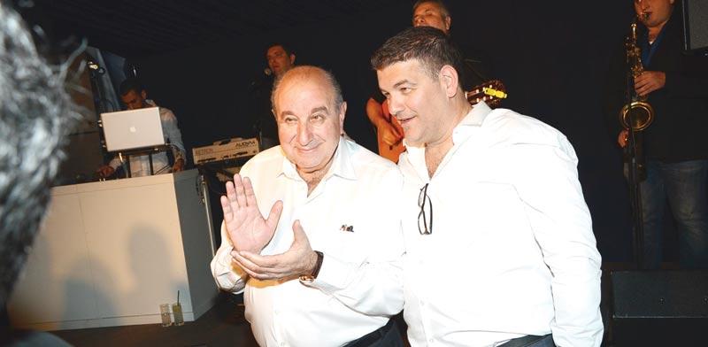 ישראל רייף ושלמה שמלצר / צילום: יוסי כהן