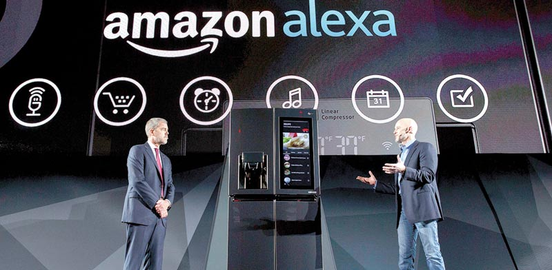 Amazon Alexa photo: Patrick T. Fallon, Bloomberg