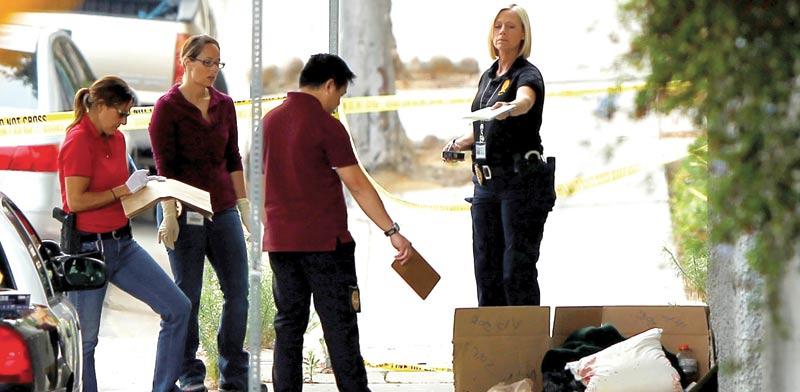זירת רצח בארצות הברית / צילום: רויטרס, Mike Blake