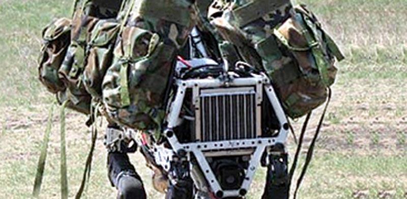 """הרובוט """"ביג–דוג"""" / צילום: יח""""צ"""
