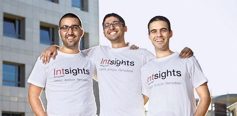 IntSights founders Photo: Ophir Abe