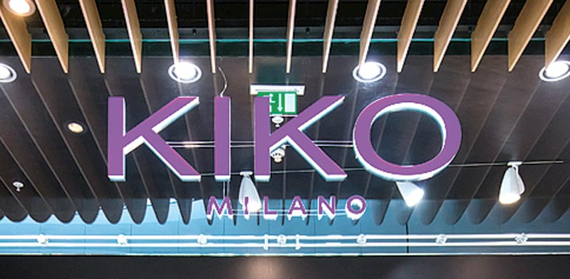 KIKO Milano Photo Shutterstock ASAP Creative