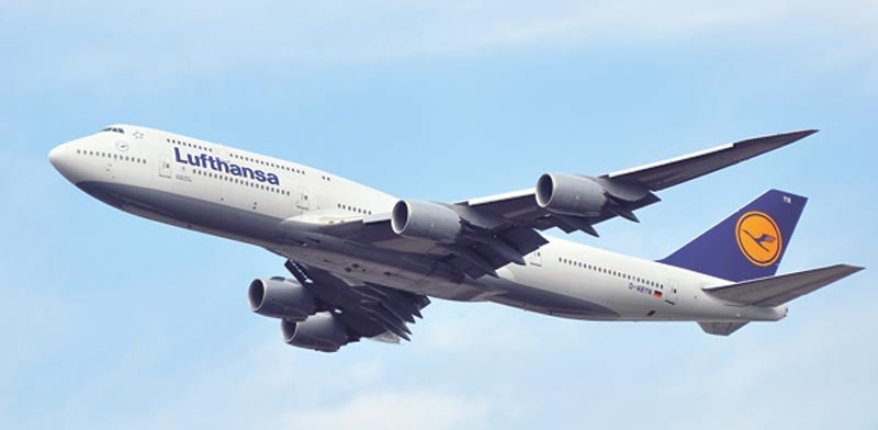 מטוס של לופטהנזה / צילום: Shutterstock.