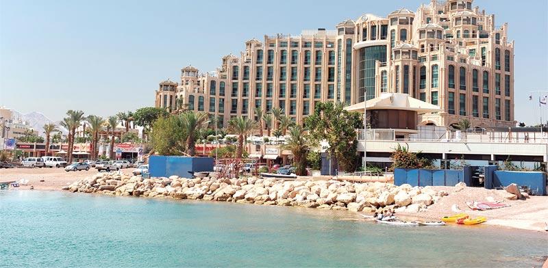 מלון מלכת שבא באילת / צילום: תמר מצפי