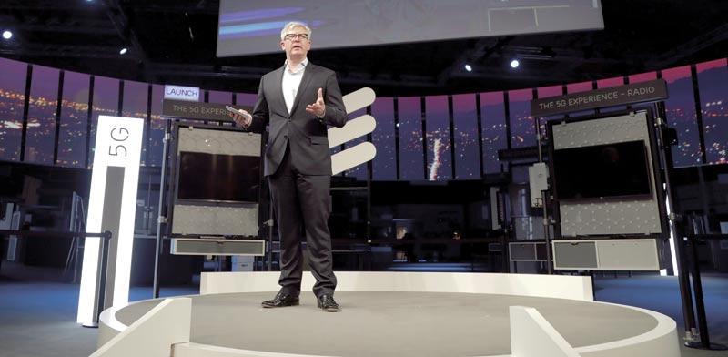 """בוריה אקהולם, מנכ""""ל אריקסון. פרמיית הסיכון של החברה בשוק האשראי ירדה דרמטית  / צילום: רויטרס"""