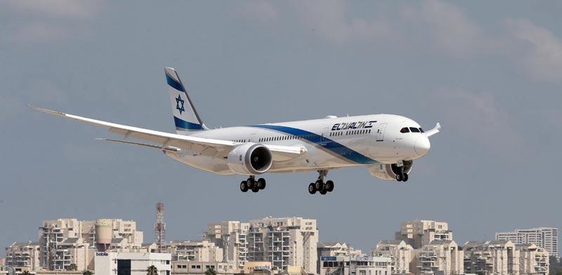 מטוס אל על / צילום: סיון פרג'