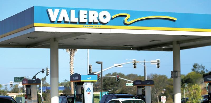 תחנת תדלוק של Valero / צילום: רויטרס