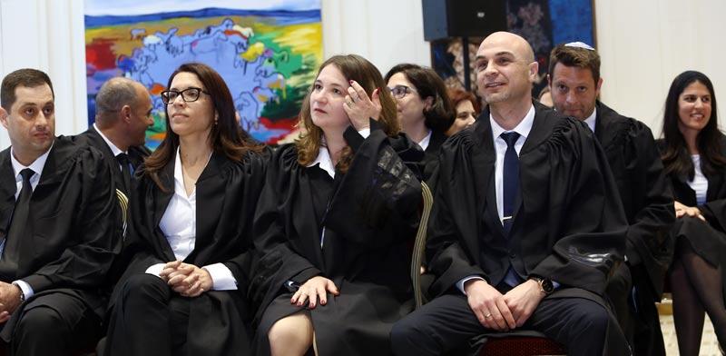 טקס השבעת שופטים  / צילום:שלומי יוסף