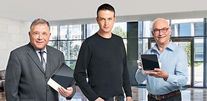 Gabi Iddan, Liron Elia, Eitan Scapa  photo: PR