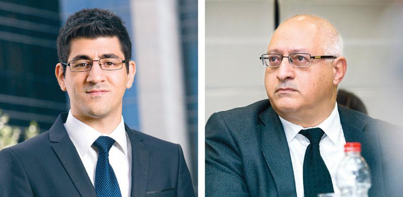 יוסי לוי (מימין) ובנו אלי / צילומים: שלומי יוסף ואלון רון