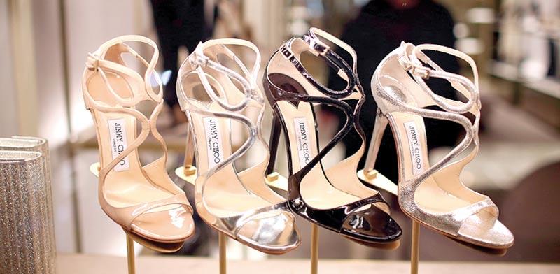 נעליים של ג'ימי צ'ו. התאוששות במחיר המניה / צילום: בלומברג
