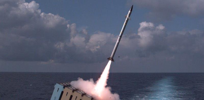 """ניסוי """"הזדמנות פז""""- יכולת חדשה לצה""""ל - כיפת ברזל ימית / צילום: דובר צה""""ל"""