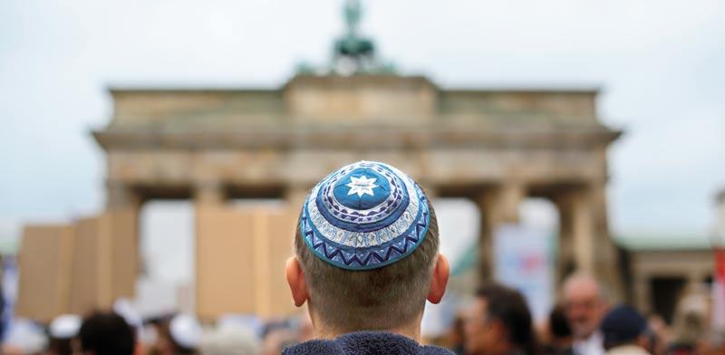 יהודי בברלין / צילום: רויטרס