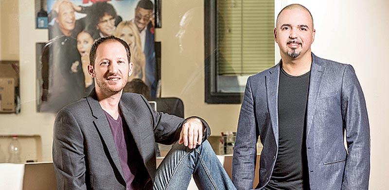 אלי אבאיאן (מימין) וניר סגל, eTribez. 10 מיליון מתמודדים / צילום: רמי זרנגר
