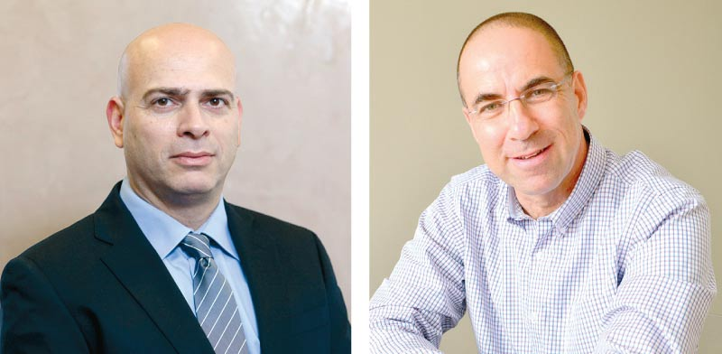 """עדו קוק (מימין) ורמי דרור / צילומים: תמר מצפי ויח""""צ"""