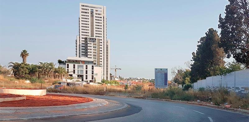 הכביש הראשי בשכונה החדשה / צילום: דרור מרמור