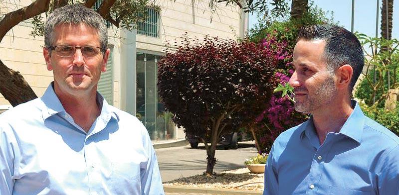 ירון ברסקי (מימין) ואסף קרת / צילום: גיל ארבל