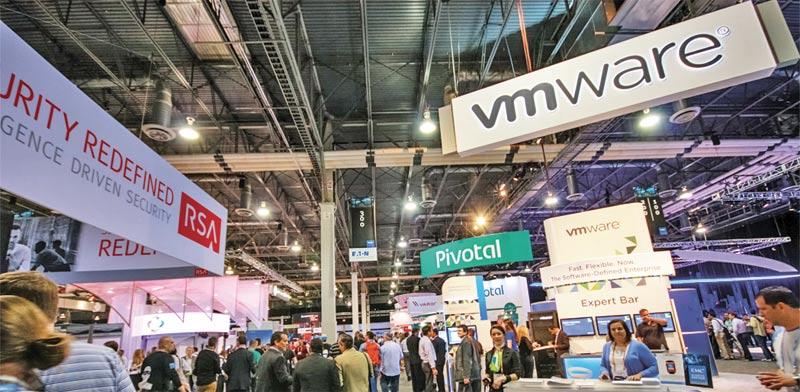 ביתן של VMware בתערוכה בלאס וגאס / צילום: Shutterstock, א.ס.א.פ קריאייטיב