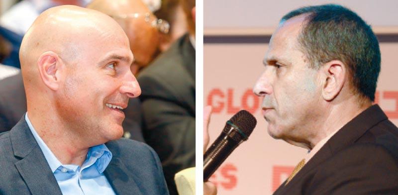 האוזר (מימין) ונוה / צילומים: שלומי יוסף ואיל יצהר