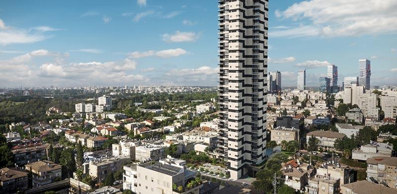 צעיר 148 דירות נוספות: תדהר תקים מגדל שני בפרויקט גפן ברמת גן - גלובס CA-11