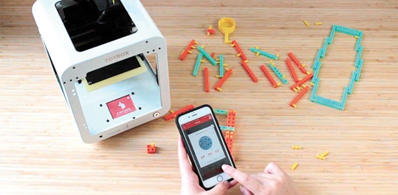 """מדפסת ToyBox / צילום: יח""""צ"""