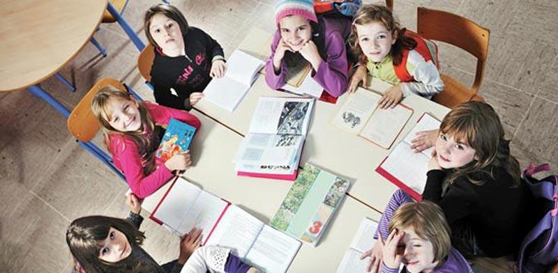 ילדים, כיתה, תלמידים, צהרון / צילום: Shutterstock / א.ס.א.פ קריאייטיב