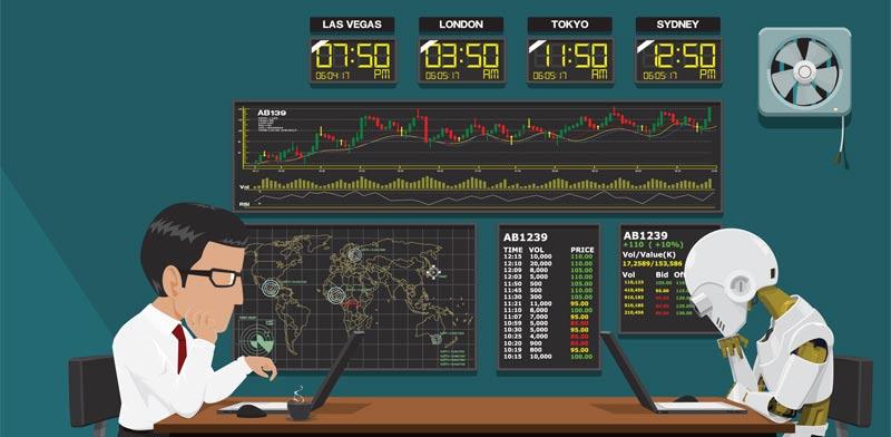 ניהול השקעות רובוטי / איור: Shutterstock, א.ס.א.פ קרייטיב