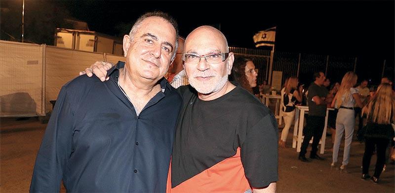 משה רוזנבלום ודוד גולברי / צילום:ניר פקין