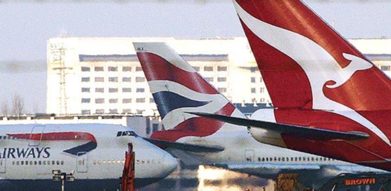"""מטוס בריטיש איירווייס / צילום: יח""""צ"""