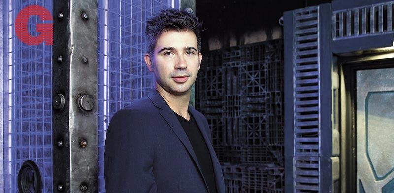 """יבגני דיברוב / צילום: ענבל מרמרי. צולם בחדר הבריחה """"משחקי הגורל"""", ראשל""""צ"""