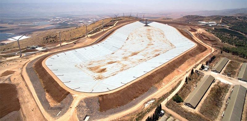 תחנת אגירה שאובה בגלבוע / צילום: אלבטרוס