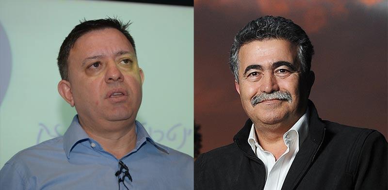 עמיר פרץ ואבי גבאי / צילומים: איל יצהר