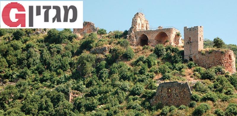 מבצר המונפורט בנחל כזיב / צילום: יותם יעקבסון