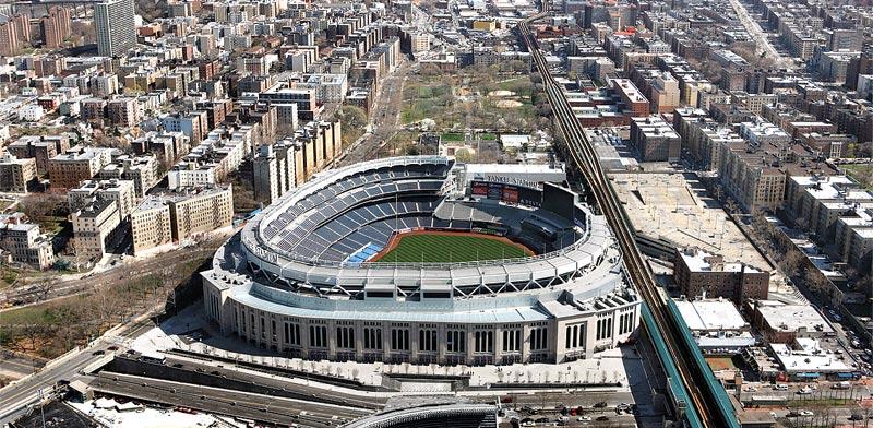 יאנקי סטאדיום בניו יורק. עלות בנייה כוללת של 2.3 מיליארד דולר / צילום: רויטרס