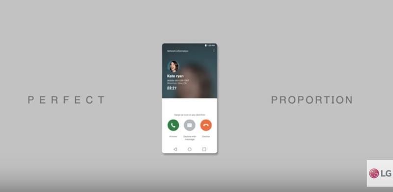 LG G6/ מתוך סרטון יוטיוב של החברה