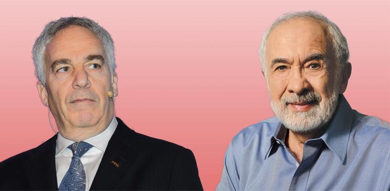 בני לנדא (מימין) וארז ויגודמן / צילומים: איל יצהר