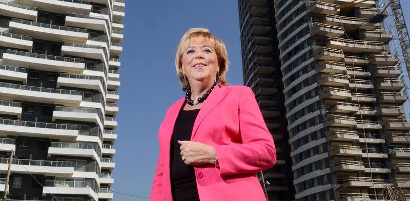 מרים פיירברג, ראש עיריית נתניה / צילום: איל יצהר