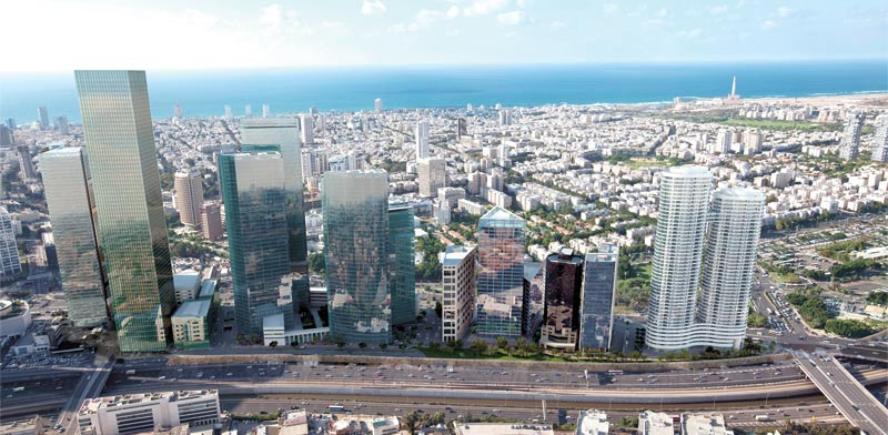 Tel Aviv Photo: 3DVISION Computer Image