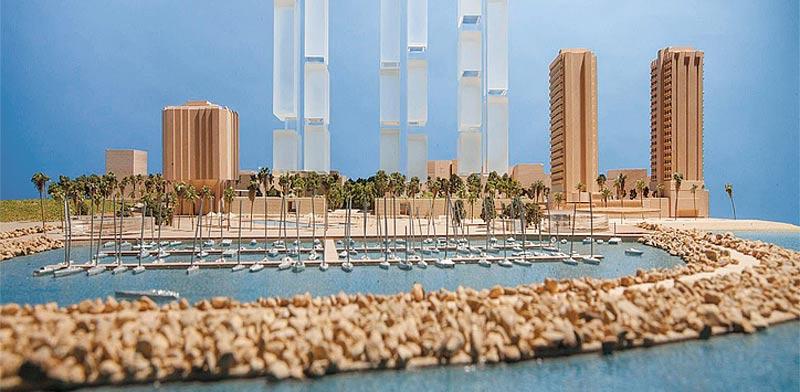 הפרויקט המתוכנן / הדמיה: עיריית תל אביב