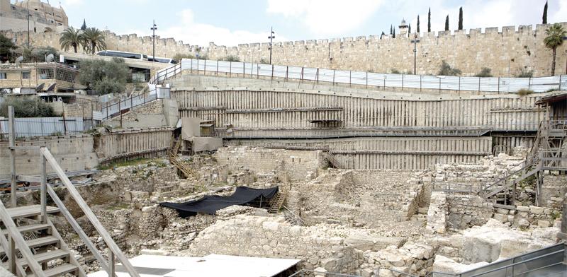 החפירות בעיר דוד / צילום: ליאור מזרחי