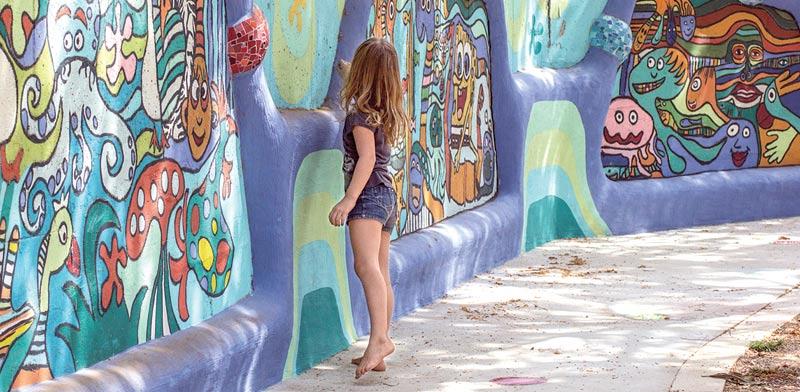 """בית ספר """"התפוז"""" בפרדסיה / צילום: אלונה להב"""