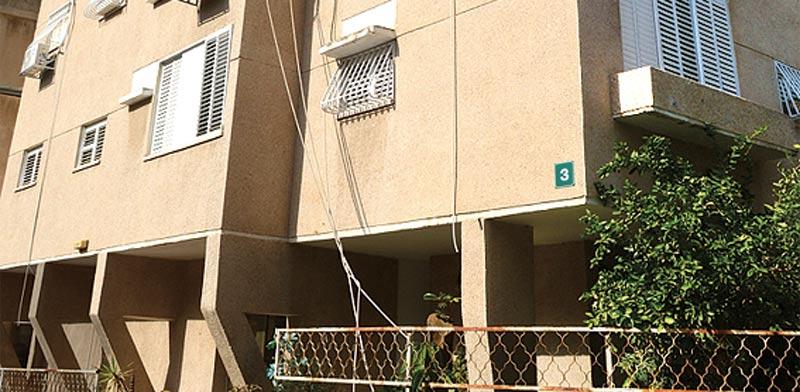 """רחוב הראב""""ע ברמת גן  / צילום:איל יצהר"""