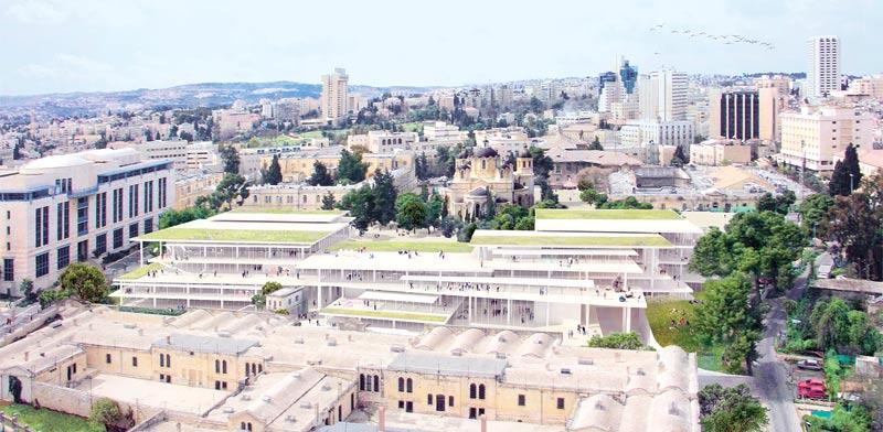 Bezalel campus Photo: Arie Kutz