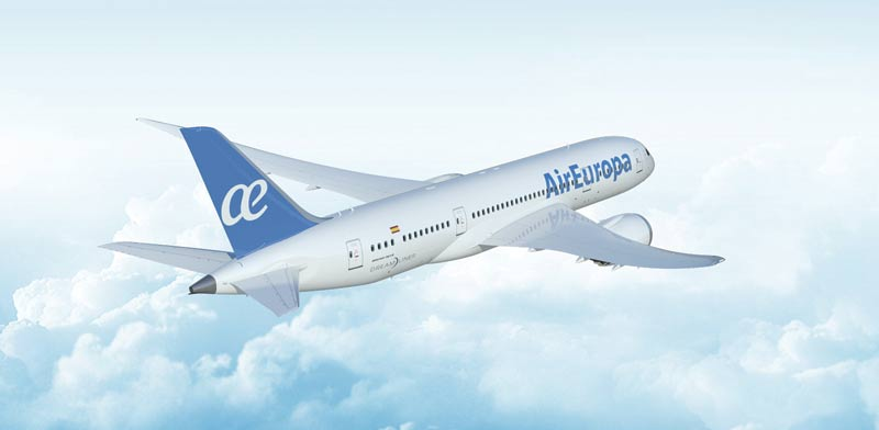 """מטוס אייר אירופה / צילום: יח""""צ"""