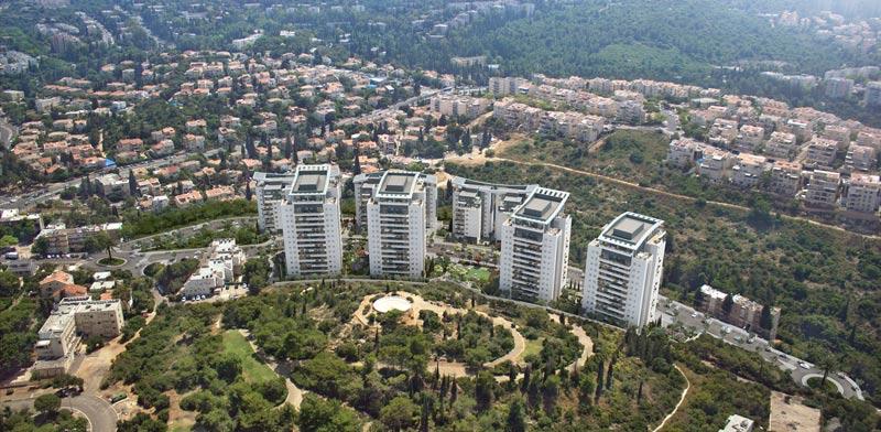 פינוי בינוי בנוה שאנן בחיפה /   קרדיט: חברת פרשקובסקי