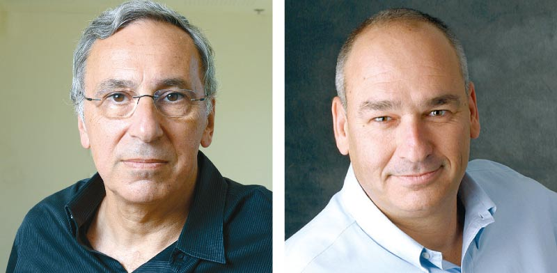הראל בית און (מימין), ואריאל הלפרין מקרן טנא / צילום: איל יצהר ותמר מצפי