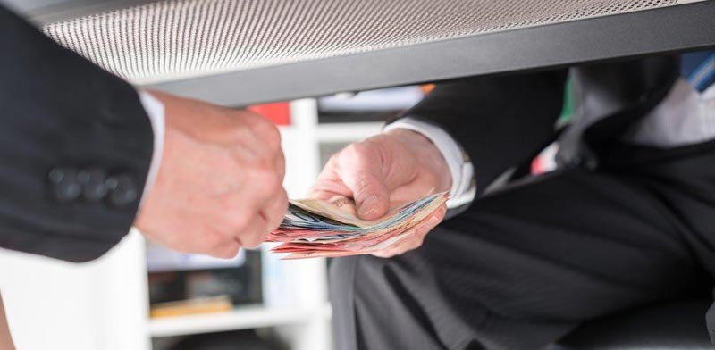 Bribery Photo: Shutterstock ASAP Creative