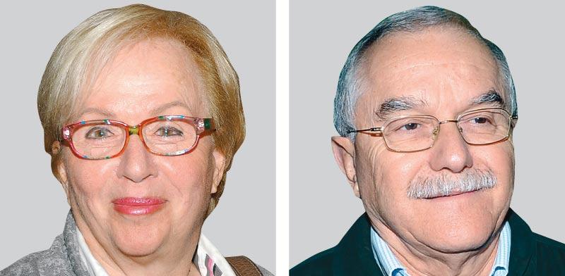 יאיר שמיר ובלהה גילאור / צילום: יוסי כהן ואיל יצהר